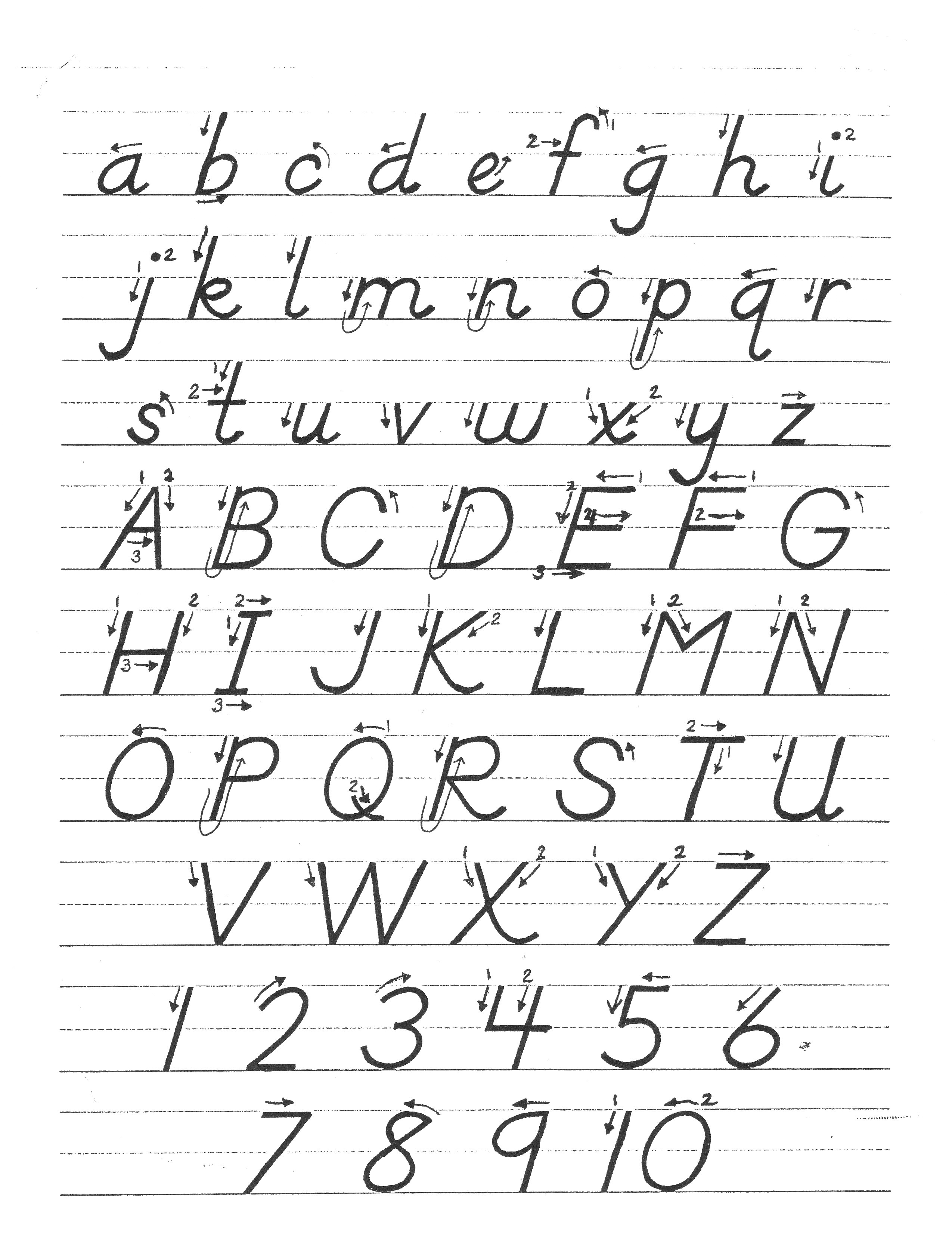 Worksheets Handwriting Without Tears Worksheet printable letter formation sheets choice image samples format practice gallery printables handwriti